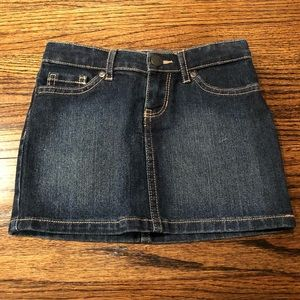 5T denim skirt